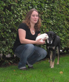 Dierenartsassistent Channa Peeters